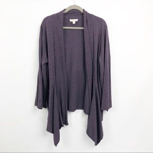 Coldwater Creek Open Front Cardigan 1X (16w-18w)